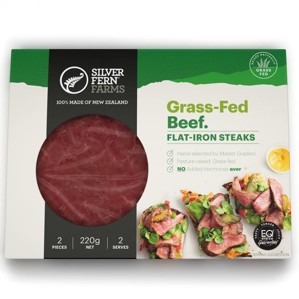 SFF Beef Flat Iron Steaks