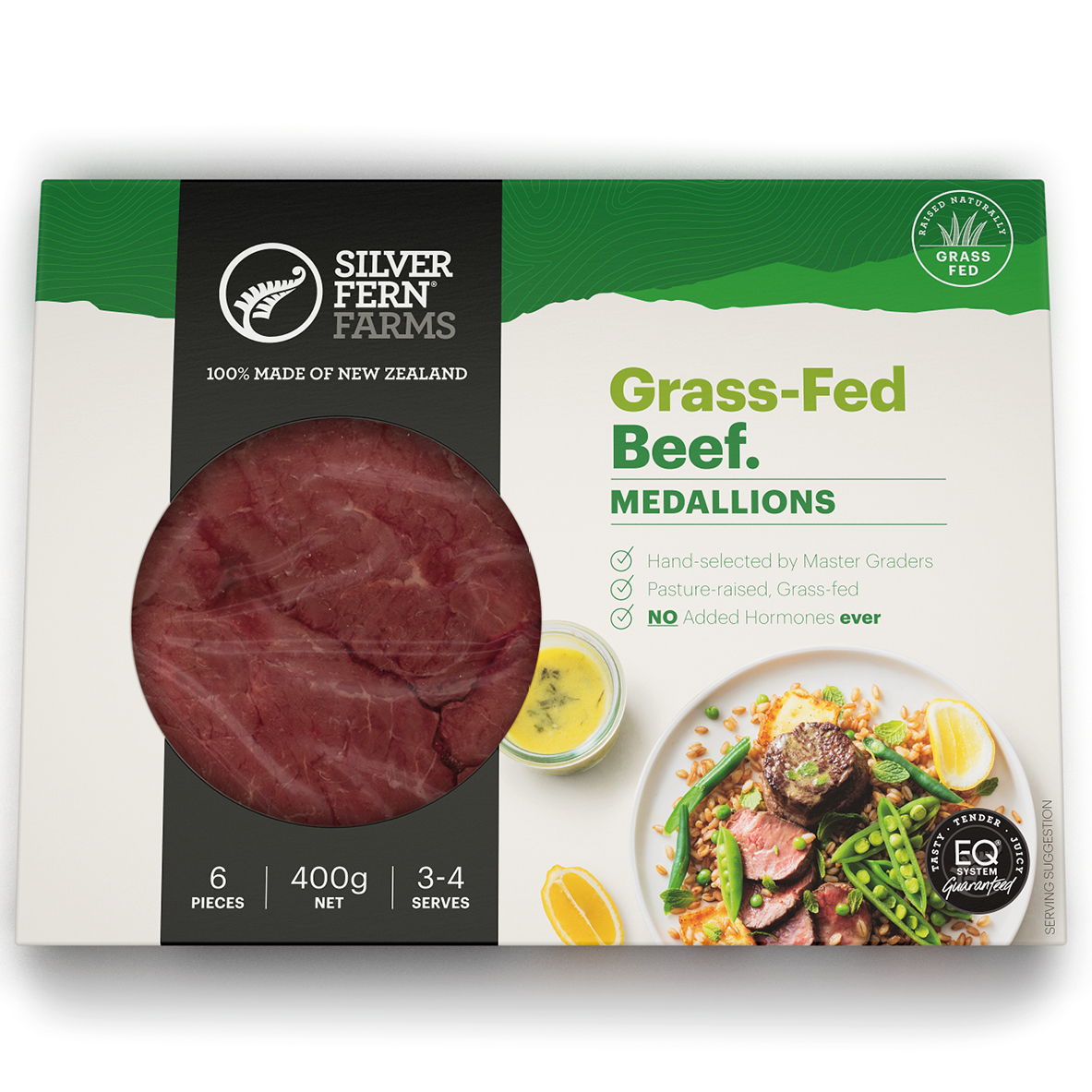 Image of Beef Medallions in a packet