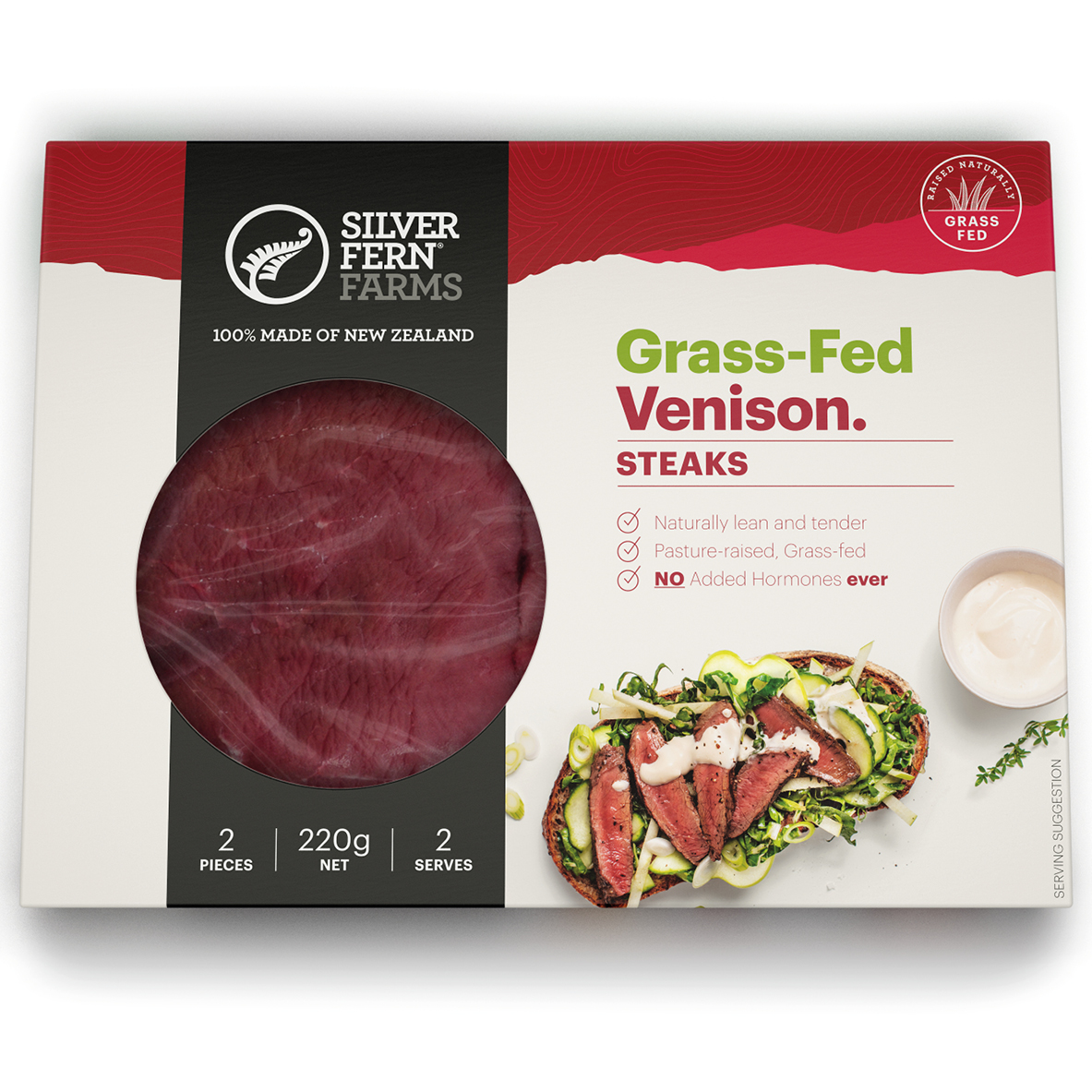 SFF Venison Steaks
