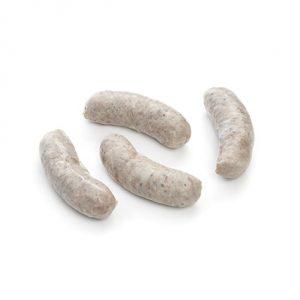 Image of four pork sausages