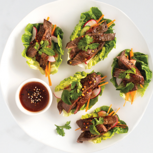 SFF Venison Minute Steaks lettuce cups