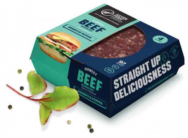 Image of burger patties in a box